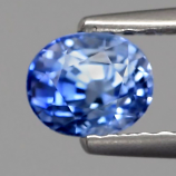 Genuine Blue Sapphire .81ct 5.2x4.2x4mm VS1 Madagascar