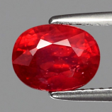 Genuine Ruby 2.18ct 8x6x4.9mm SI2 Mozambique
