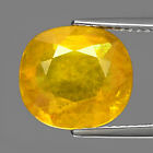Genuine Yellow Sapphire 6.18ct 11.5x10.3x5.2mm I1 Madagascar