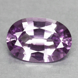 Genuine Purple Sapphire .68ct 6.5x4.5x2.7mm IF Ceylon