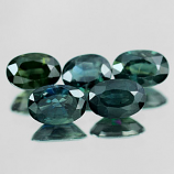 Genuine Green Sapphire .59ct 5.8 x 4.0 x 3.0mm Thailand VS1
