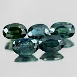 Genuine Green Sapphire .59ct 5.8 x 4.0 x 3.0mm Thailand VS1