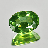 Genuine Green Sapphire 1.16ct 7.1x5.1x3.2 VVS Thailand