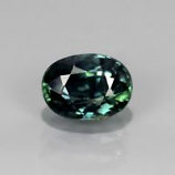 Genuine Green Sapphire 1.15ct 8.0x6.2x2.5mm SI2 Madagascar