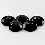 Genuine 100% Natural Black Spinel 1.96ct 9.2x7.2mm Opaque Thailand