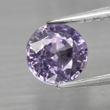 Genuine Purple Sapphire 1.09ct 6.0x6.0x3.6mm SI2 Tanzania