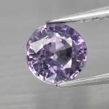 Genuine Purple Sapphire 1.09ct 6.0x6.0x3.6mm SI2 Tanzania