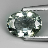 Genuine Green Sapphire 1.22ct 7.6 x 5.7mm SI