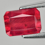 Genuine Ruby 1.28ct 7.0 x 5.0mm Octagon VS1 Clarity