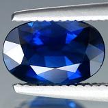 Genuine BLUE SAPPHIRE 1.22ct 8.0 x 5.4 x 3.2mm Oval VS1 Clarity