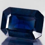Genuine BLUE SAPPHIRE 1.36ct 7.2 x 5.2 x 3.5mm Octagon