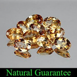 Genuine 100% Natural Champagne Topaz .87ct 7.0 x 5.0 x 3.0mm Brazil SI