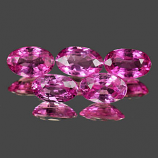 Genuine 100% Natural PINK SAPPHIRE .30ct 5.1 x 3.2 x 2.3mm Oval