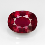 Genuine Ruby 2.41ct 8.8 x 6.7mm Oval SI2 Clarity