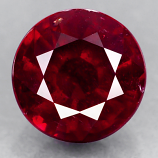 Genuine RUBY 1.78ct 6.9 x 6.9 x 4.3mm Round