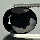 Genuine Black Sapphire 2.51ct 9.0 x 7.2 Madagascar