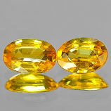 Genuine Yellow Sapphire .56ct 5.9 x 4.0mm Oval VS1 Clarity
