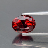 Genuine Red Sapphire 1.11ct 7.0 x 4.7mm SI1 Tanzania