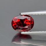 Genuine Red Sapphire 1.11ct 7.0 x 4.7mm SI1 Tanzania