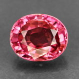 Genuine 100% Natural PINK TOURMALINE .90ct 6.3 x 5.2 x 3.6mm Oval