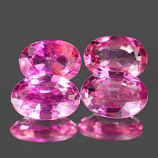 Genuine 100% Natural PINK TOURMALINE .39ct 6.0 x 4.2 x 2.4mm Oval