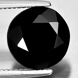 Genuine 100% Natural Black Spinel 2.31ct 8.2x8.2xmm Opaque Thailand