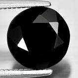 Genuine 100% Natural Black Spinel 2.31ct 8.2x8.2xmm Opaque Thailand