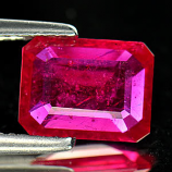 Genuine Ruby 2.15ct 9.1 x 6.9 x 2.8mm Mozambique VS1