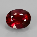 Genuine 100% Natural Ruby 0.55ct 5.3x4.2x2.8mm SI1 Mozambique